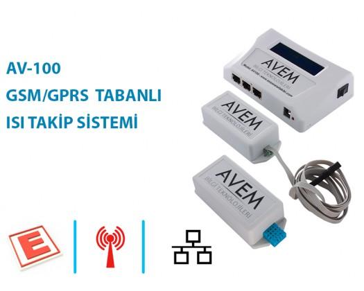 AV 100 - GSM/GPRS TABANLI ISI TAKIP SISTEMI