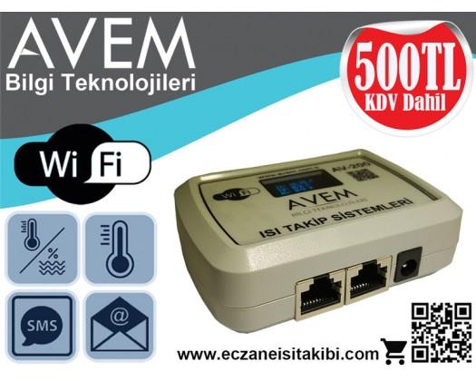 AV200 - Wifi Isı Takip Sistemi